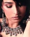 JW023 Zircons Ruby Gemstones  Party Jewellery