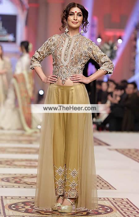 Mehndi Party Dress Code : Pw fallow metallic gold raw silk crinkle chiffon party dress