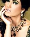 JW073 Garnet Emerald Ruby Necklace Party Jewellery