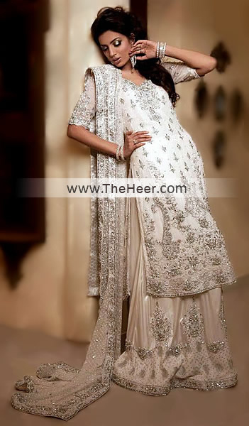 Punjabi pink salwar suit - 5 7