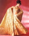 BW591 Golden Flared Lehenga