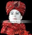 TB4983 Red Turban