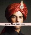 TB586 Red Turban