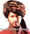 TB887  Dark Brown Turban