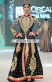 AK7262 Black Flavescent Raw Silk Crepe Silk Anarkali