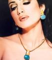 EJ666 Feroza And Golden Evening Jewellery