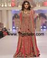 BW6610 Scarlet Red Crinkle Chiffon Banarasi Crinkle Chiffon Banarasi Jamawar Lehenga