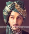 TB710 Dark Green Turban
