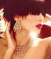 CJ656 Pearls And Zircons Jewellery