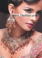 BJ176 Peach Gemstones Jewellery