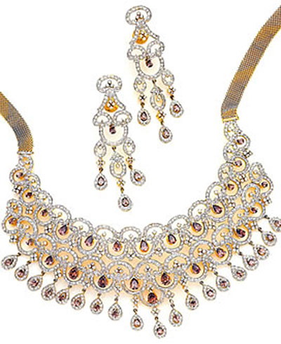Gold Jewellery Necklaces Indian Gold Jewellery With