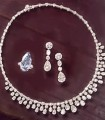JW684 Cubic Zircons Diamond Like Jewellery