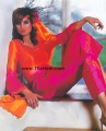 CW751 Orange And Pink Casual Wear