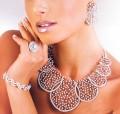 JW717 Swarovski Crystals Party Jewellery