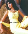 CW312 Yellow Raw Silk Shalwar Kameez