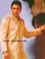 SW650 Cream Sherwani