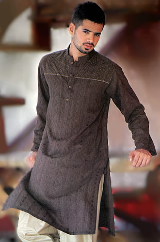 KT850 Gray Kurta  98005 zoom - DRess Of The DAy 15th JUne 2o12