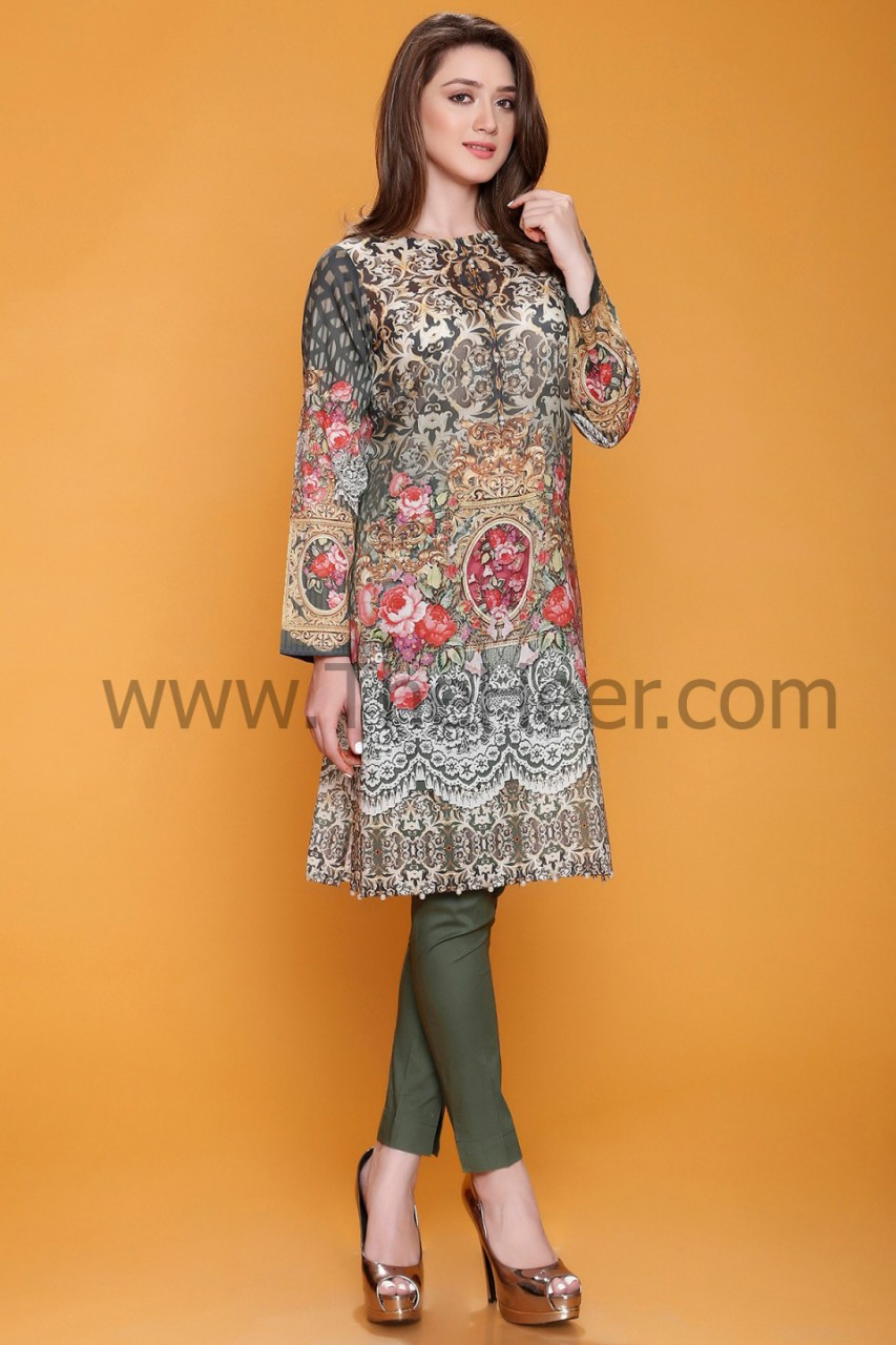 3e76b5128f MSW912 Multi Color Lawn Cotton 3 Piece Stitched Ready To Wear Suit