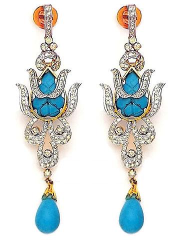 jw4947 blue opal earrings jewellery fashion earrings stud. Black Bedroom Furniture Sets. Home Design Ideas