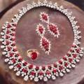 JW690 Cubic Zircons Diamond Like Jewellery