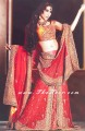 BW8452 Gold & Red Lehenga