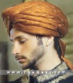 TB880  Light brown Turban