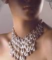 EJ353 Shaped Gemstone Evening Jewellery