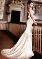 BW8929 Off White Mermaid Lehenga