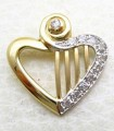 JW776 Heart Strings Pendants Jewellery