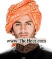 TB599 Orange Turban