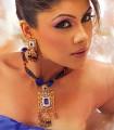 EJ526 Blue Gemstone Evening Jewellery