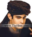 TB687 Dark Brown Turban