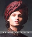 TB721 Plain Maroon Turban
