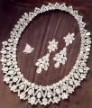 JW687 Sterling Silver Diamond Like Jewellery