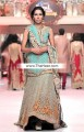 BW6731 Light Robin Egg Blue Raw Silk Crinkle Chiffon Lehenga