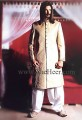 SW858 Light Golden Sherwani