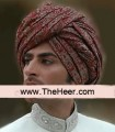 TB603 Mahroon Turban