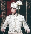 SW476 Off White Raw Silk Sherwani