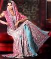 BW6881 Amaranth Pink & Maya Blue Lehenga
