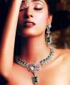 JW069 Green Zircons Necklace Party Jewellery