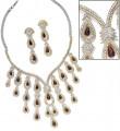 JW154 Burgundy Jewellery