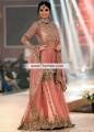 BW6556 Candy Pink Crinkle Chiffon Gharara