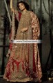 BW6761 Fallow Rosewood Crinkle Chiffon Banarasi Jamawar Lehenga