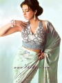SR571 Mint Green Saree
