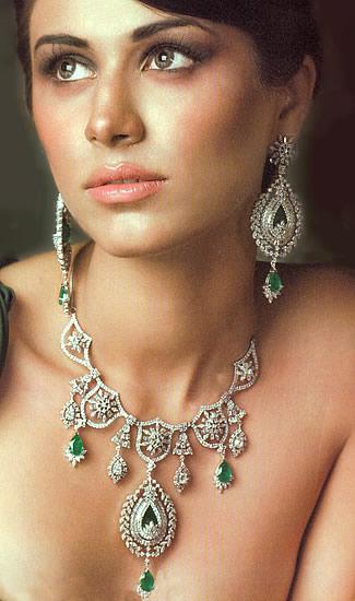 Jw219 Sterling Silver Diamond Like Jewellery Jewellery