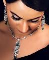 JW000 Zircons Necklace Party Jewellery