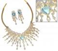 JW156 Blue opal Jewellery
