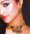 EJ764 Red Gemstones Evening Jewellery