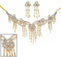 JW132  Rhodium Plated Jewellery