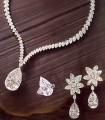 JW698 White Cubic Pear Diamond Like Jewellery